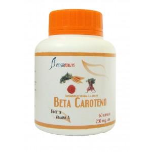 Betacaroteno em Cápsulas 250mg Frasco c\ 60