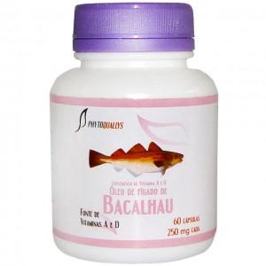 Óleo de Fígado de Bacalhau 250mg c\ 60 cápsulas