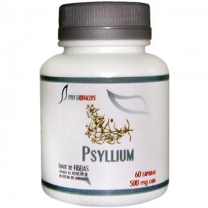 Psyllium 500mg c\ 60 cápsulas