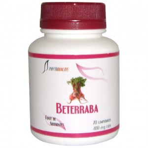 Beterraba Comprimidos 400 mg Frasco c\ 70