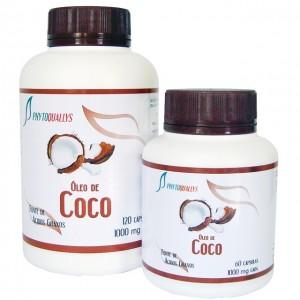 Óleo de Coco 1000mg c\ 60 cápsulas