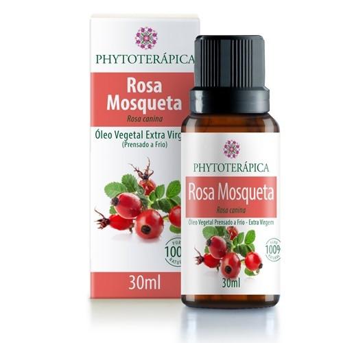 oleo vegetal de rosa mosqueta 30ml phytoterapica
