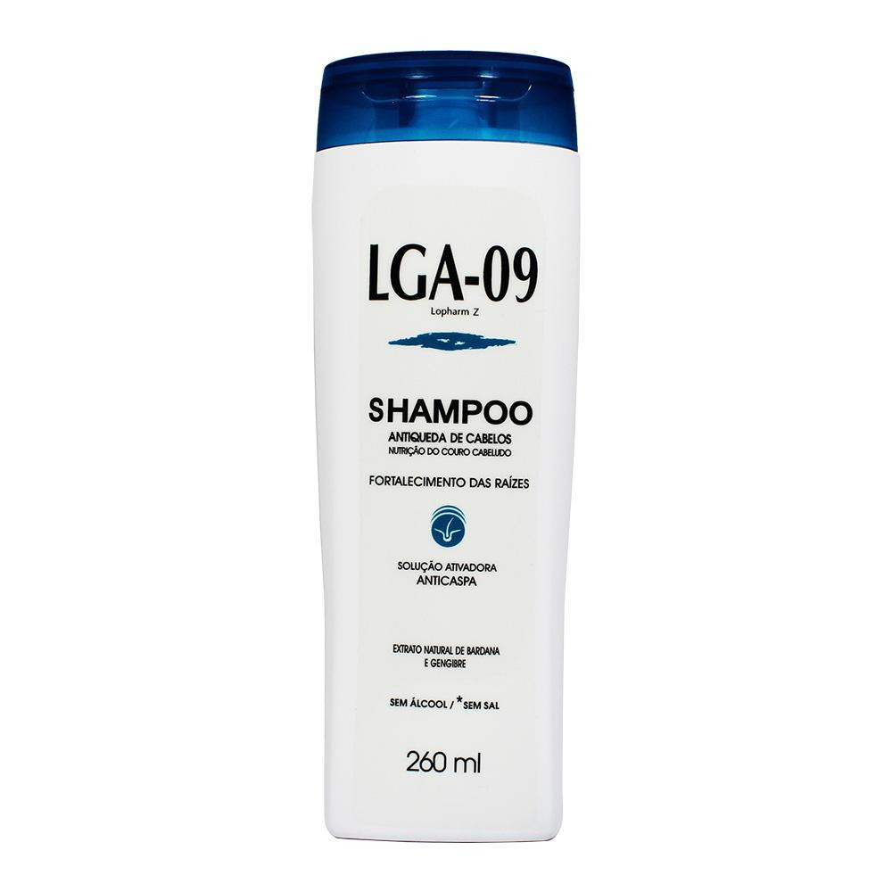 Shampoo LGA-09 Antiqueda