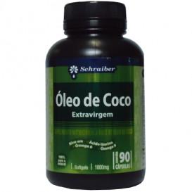 Óleo de Coco Extra Virgem 1000 mg c\ 90 cápsulas