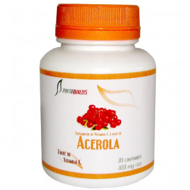 Acerola Comprimidos 400mg Frasco c\ 70