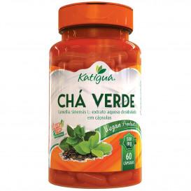chá verde capsulas veganas