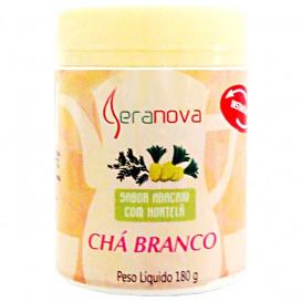 Chá Branco Solúvel Sabor Abacaxi com Hortelã 180 g