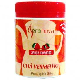 Chá Vermelho Solúvel Sabor Morango 180 g
