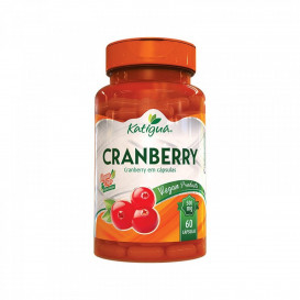 cranberry 500mg 60caps katigua novo vegana