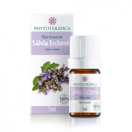 oleo essencial de salvia esclareia 5ml phytoterapica