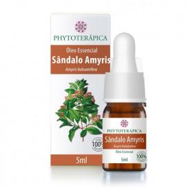 oleo essencial de sandalo amyris 5ml phytoterapica