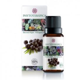 oleo vegetal de açai 20ml phytoterapica