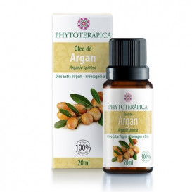 oleo vegetal de argan 20ml phytoterapica