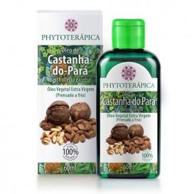 oleo vegetal de castanha do para 60ml phytoterapica