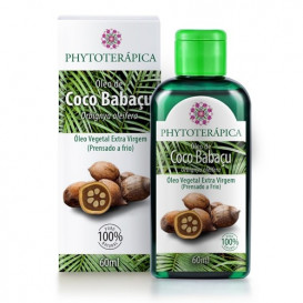 oleo vegetal de coco babacu 60ml phytoterapica