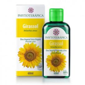 oleo vegetal de girassol 60ml phytoterapica