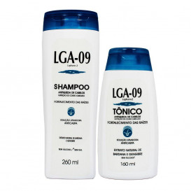 Kit Shampoo e Tônico LGA-09