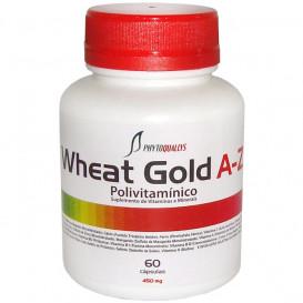 Polivitamínico Wheat Gold A-Z 450 mg c\ 60 cápsulas (Suplemento de Vitaminas e Minerais)