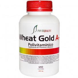 Polivitamínico Wheat Gold A-Z 450 mg c\ 120 cápsulas (Suplemento de Vitaminas e Minerais)